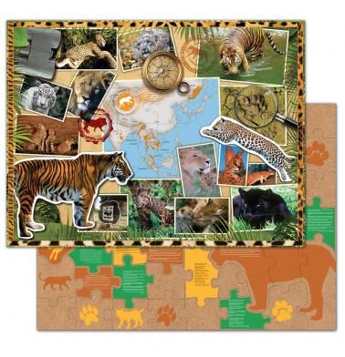 WWF Wild Cats Floor Puzzle