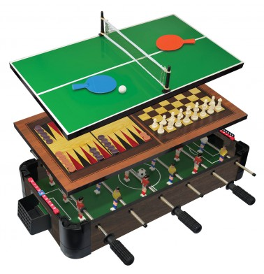 "20"" (50cm) 5-in-1 Tabletop Foosball (Football/Soccer)"