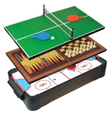 "20"" (50cm) 5-in-1 Tabletop Air Hockey"