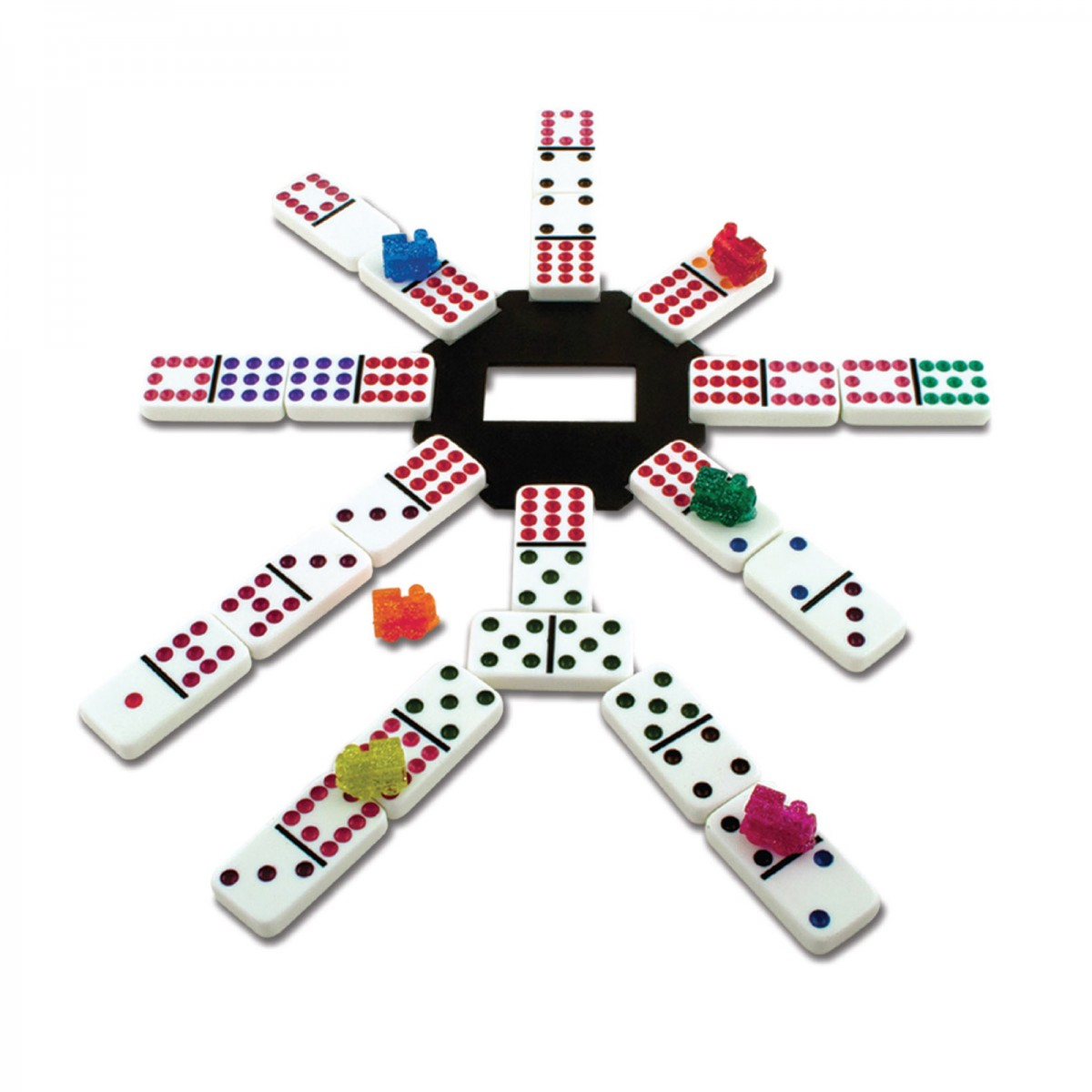 Classic Games Collection Mexican Train Dominoes Jogos Clssicos