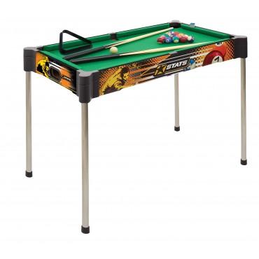 STATS Mesa de snooker de 82 cm