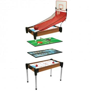 STATS Mesa de jogo 4 em 1 de 92 cm