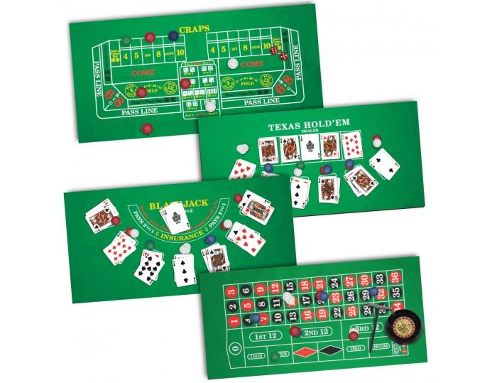 ProPoker 4-in-1 Casino Night Set