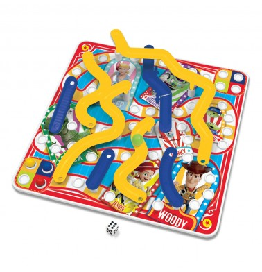 Toy Story Carnival 3D Snakes & Ladders