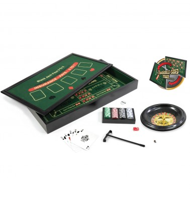 "ProPoker 29"" Wooden 4-in-1 Casino"