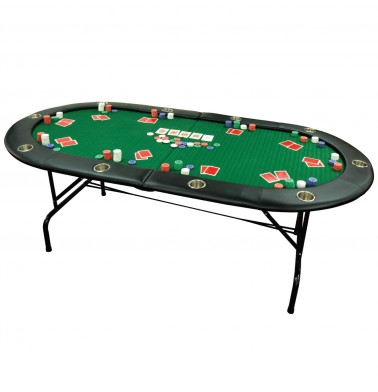 "ProPoker 82"" Foldable Texas Hold'em Poker Table"